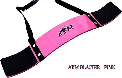 Heavy Bicep Curl Support Arm Blaster Body Building Bomber Premium Arm Blaster