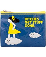 Bitches Get Stuff Done Coin Purse 4 x 3in