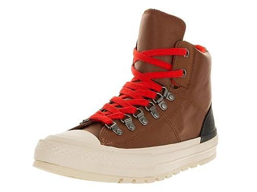 Converse CT AS Hi Street Hiker Leather Black Black