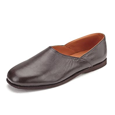 Clifford James  Men's Brown Carlton Leather Slipper'S. RU_4587