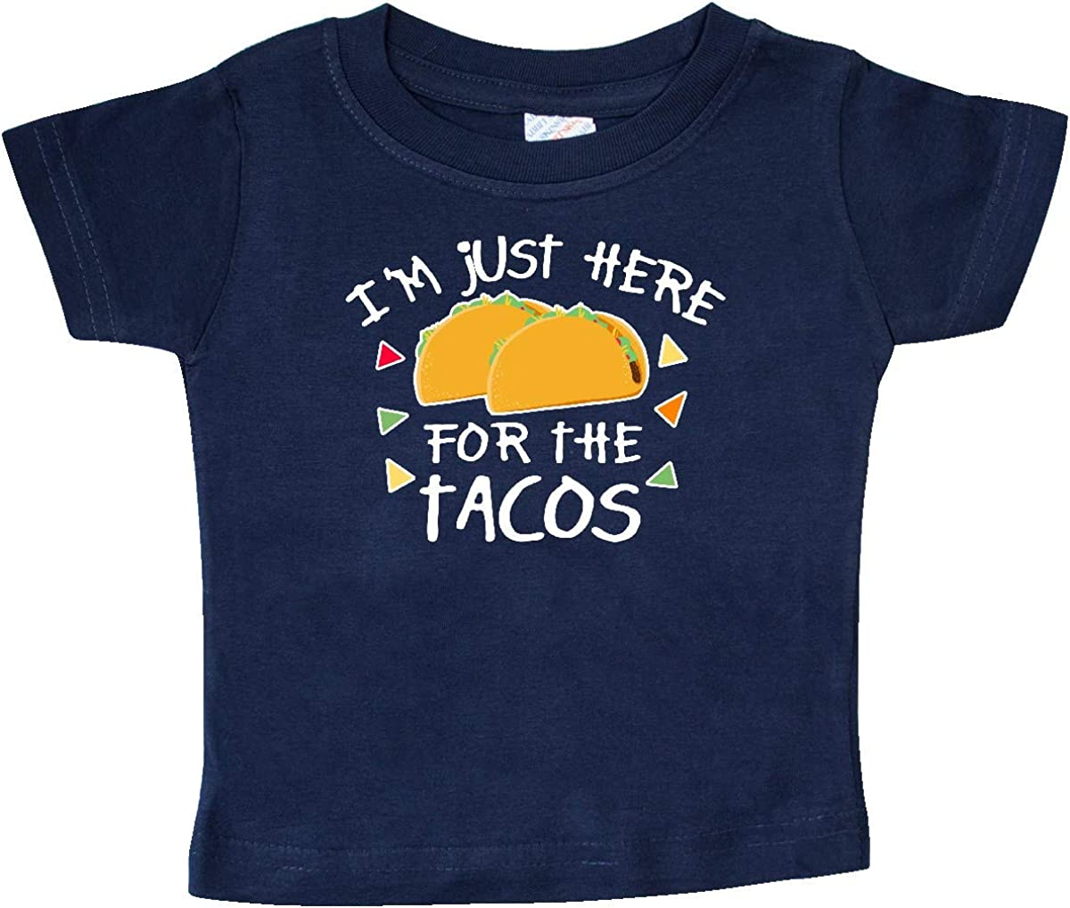inktastic Im Just Here for The Tacos Cinco De Mayo Baby T-Shirt