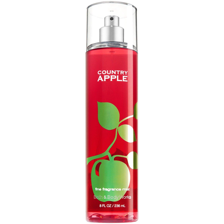 Bath & Body Works COUNTRY APPLE Fine Fragrance Mist 8 oz / 236 mL