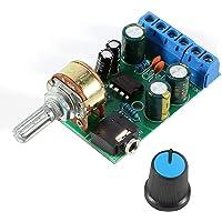 Placa de amplificador, Fydun DC1.8-12V TDA2822M Amplificador 2 canales Estéreo 3.5mm AUX Tarjeta de amplificador de…