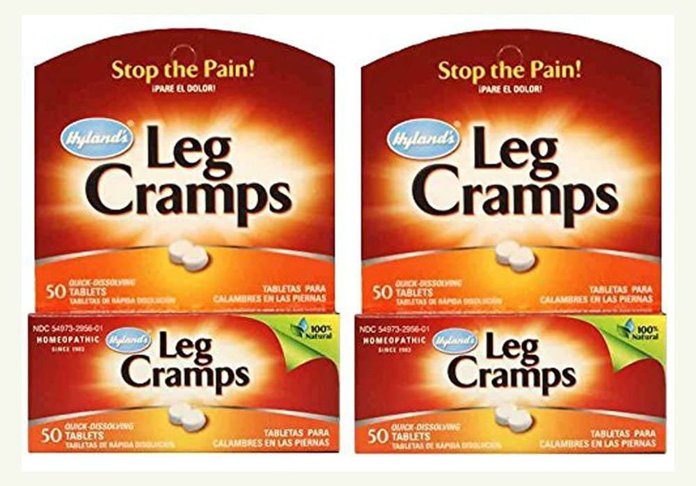 Hyland`s Leg Cramps Quick Dissolving Tablets 50 ct (Pack of 2)