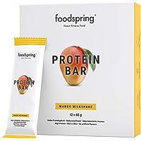 foodspring Barritas de Proteína, Sabor Mango, Pack