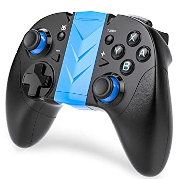 BEBONCOOL Controller for Nintendo Switch, Game Controller for 6-Axis  Somatosensory Nintendo Switch, Wireless Gamepad for Android