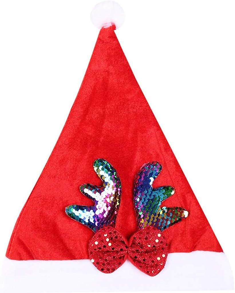 STORTO Christmas Hat Gold...