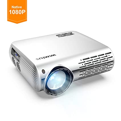 WiMiUS - Proyector de vídeo (3500 lúmenes, Full HD, soporta ...
