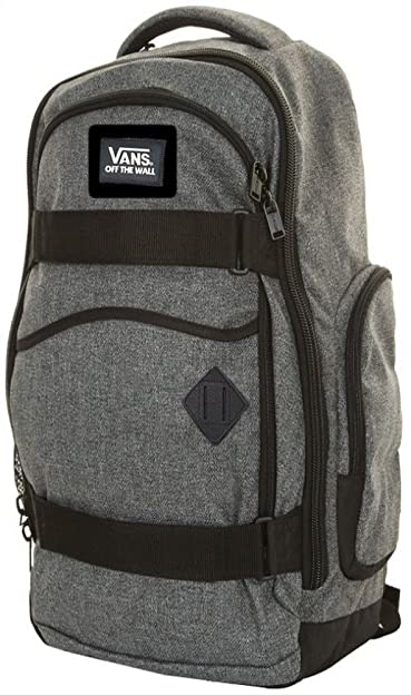 b4eecf8440 VANS Transient II Skate Pack Ash Gray School Bag Backpack  Amazon.co.uk   Shoes   Bags