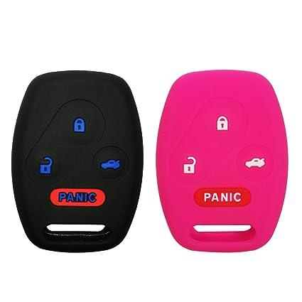 Amazon.com: coolbestda silicona 4 botones Key Funda ...