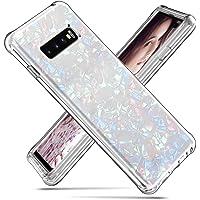 Tom's Village Clear 2 in 1 Slim Armor Case for Samsung Galaxy S10 Plus Luxury Hybrid Rugged Heavy Duty Shock Absorption…