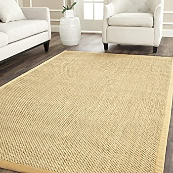 Wonderful Safavieh Natural Fiber Collection NF443A Tiger Eye Maize And Wheat Sisal  Area Rug (8u0027
