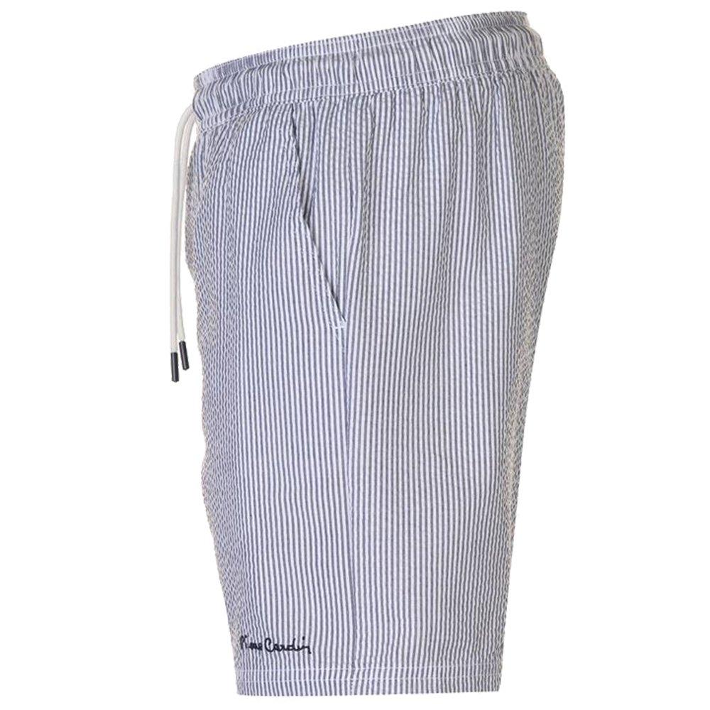 9d8606065073d Pierre Cardin Mens Seersucker Swim Shorts Striped Design: Amazon.co.uk:  Clothing