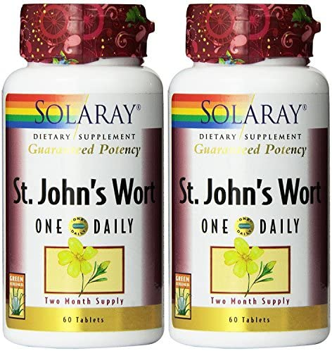 One Daily St. John s Wort Solaray 60 Tabs