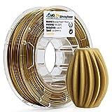 AMOLEN3DPrinterFilament,Frosted Bronze 1.75mmPLAFilament+/-0.03mm, 225G/0.5 lbs Spool, Includes SampleMarbleFilament - 100% USA