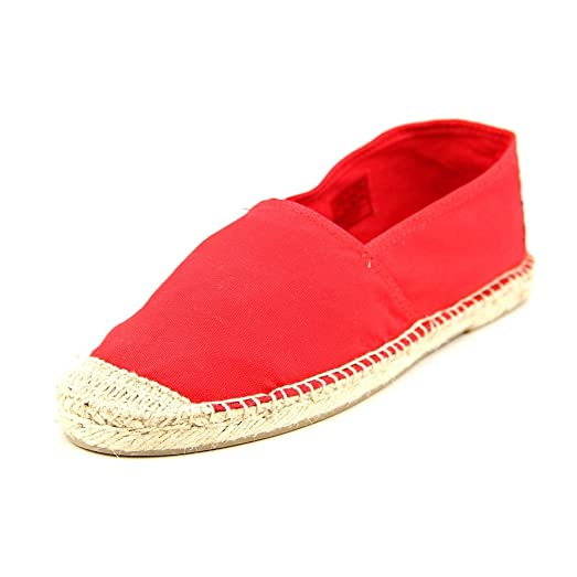 Polo Ralph Lauren Bowman Youth Girls Size 12 Red Textile Espadrilles Shoes 605cc3713f68