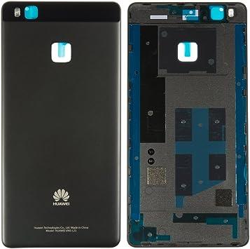 Huawei - Tapa trasera para Huawei P9 Lite (tapa para batería, parte trasera), color negro: Amazon.es: Electrónica