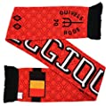 Belgium Soccer Knit Scarf