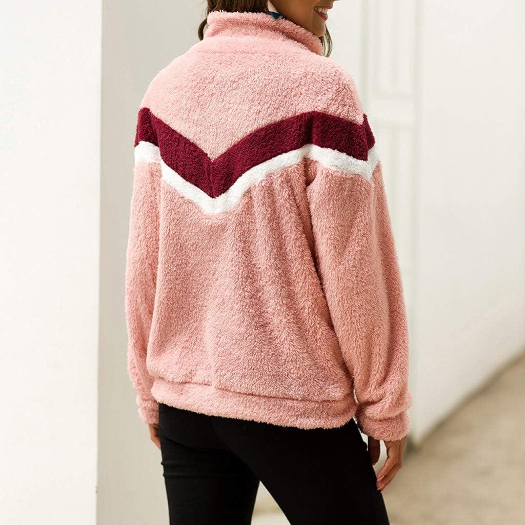 Yemenger Winter Coats for Women Plus Size Thermal Faux Fur Fleece Jacket Sherpa Lined Zip Up Fluffy Hoodies Cardigan