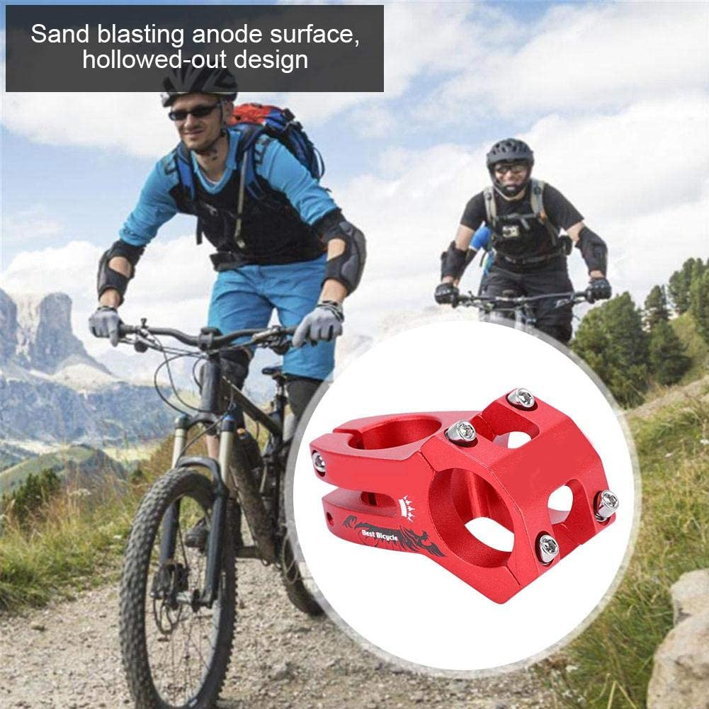 Tige de Barre de v/élo DeWin Wake 31.8mm Alliage daluminium Potence de Guidon de v/élo pour v/élo de Route de Montagne