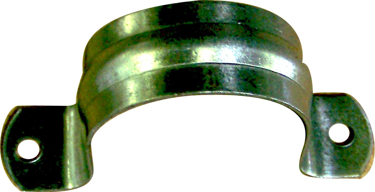 Plumber's Choice 88996 2-1/2-Inch Galvanized 2-Hole Pipe Strap (10-Pack)