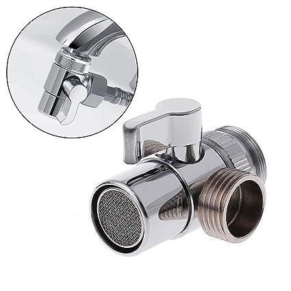 Hacloser Bathroom Kitchen Sink Valve Diverter Faucet Splitter Brass