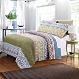 Best Greenland Homes - Greenland Home 3 Piece Shangri-La Quilt Set, Full/Queen Review