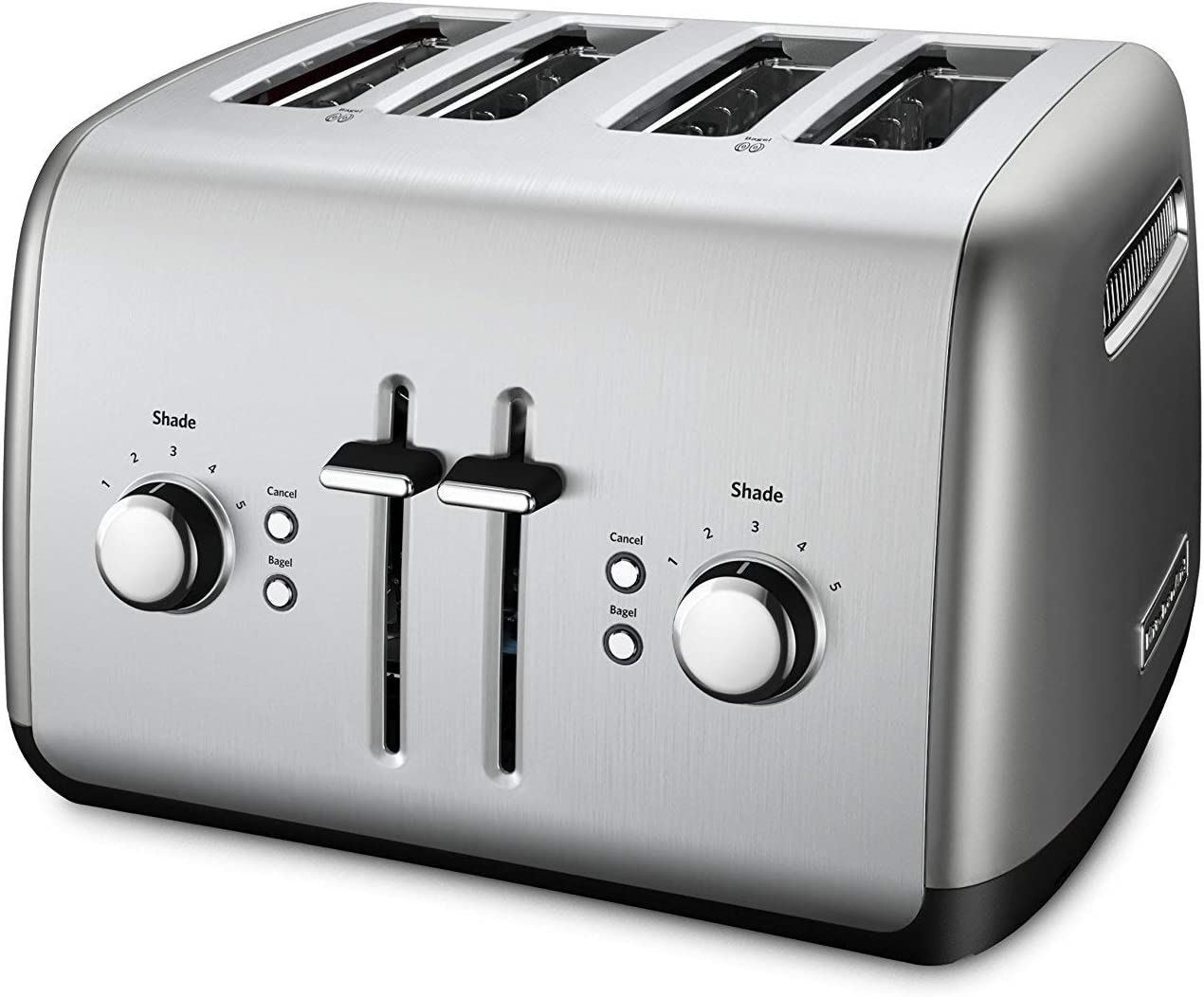 KitchenAid® KMT-2116CU Extra Wide 2-Slice Electric Toaster w// High Lift Lever