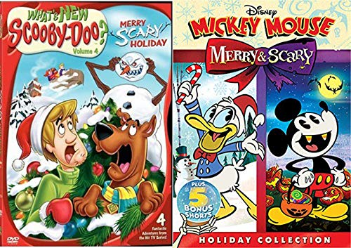 Scary Holiday Scooby-Doo & Mickey Mouse Merry Season