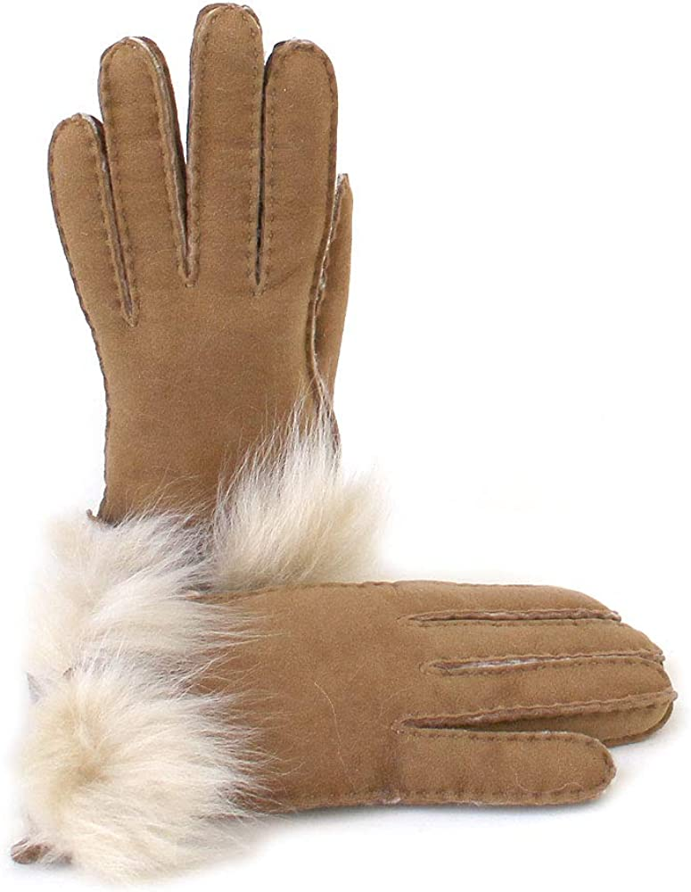 UGG Long Pile Bow Glove
