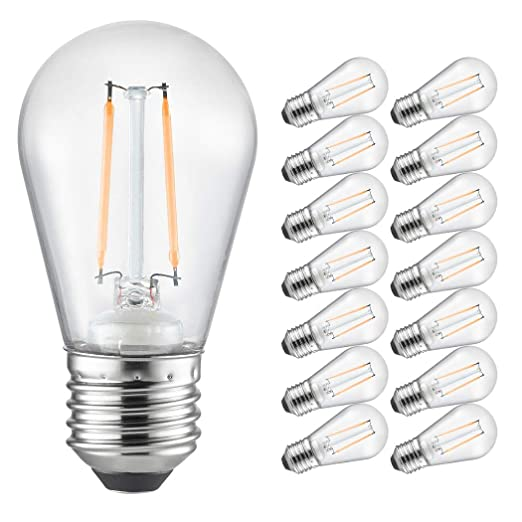 Amazon.com: Otronics S14 - Bombillas LED de 0,8 W con ...