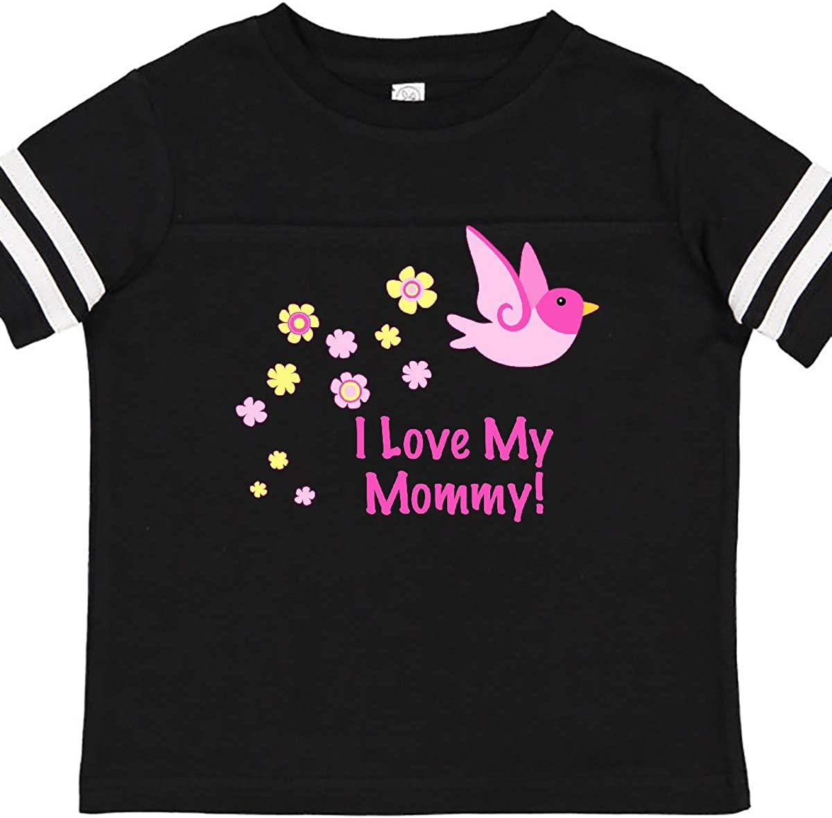 inktastic I Love My Mommy Toddler T-Shirt