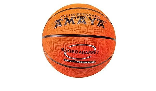 Amaya Sports - Balón de mini-baloncesto caucho, talla 6, color ...