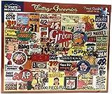 vintage puzzle - White Mountain Puzzles Vintage Groceries Puzzle, Multicolor