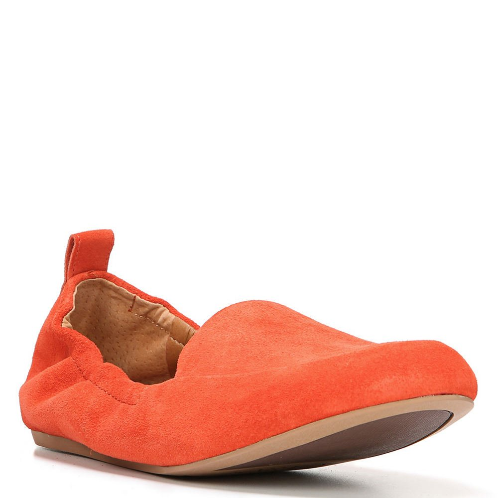 Franco Sarto Womens Stacey B01MRHPME3 10 B(M) US|Tangerine Lux Brushed Suede