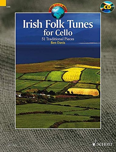 Irish Folk Tunes for Cello: 51 Traditional Pieces