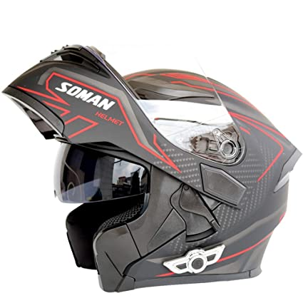 Amazon com: Shfmx Adult Modular Motorcycle Helmet Bluetooth