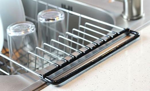 amazon com neat o over the sink kitchen dish drainer rack durable rh amazon com