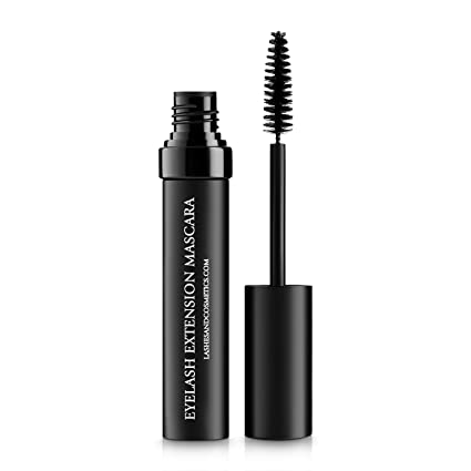 Eyelash Extension Mascara - Safe to Use with False Lashes- Oil Free by Lashes and