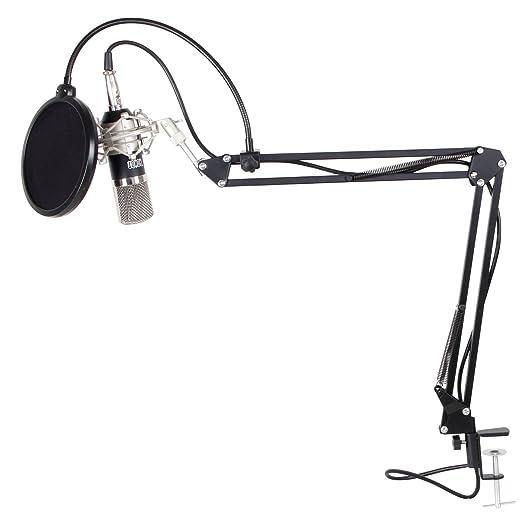 33 opinioni per Tonor 3-in-1 KIT di Microfono e Supporto e Filtro di XLR Microfono a