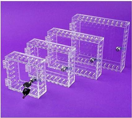 Caja metacrilato SEGURIDAD TERMOSTATO PLANO (MEDIANO (155 x 105 x 25 mm.)): Amazon.es: Hogar
