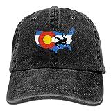 KIOJIANM USA Wrestling Unisex Baseball Caps Cool Snapback Hats Funny Trucker Hats Unique Denim Cap