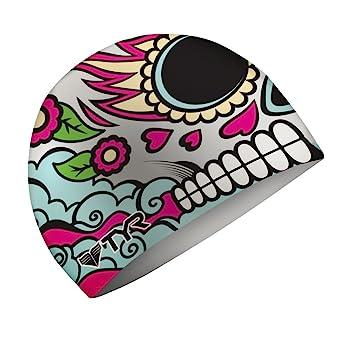 TYR La Vengadora Skull Swim Cap