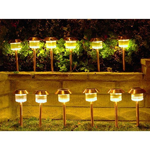 Homebrite Solar Power Belmont Path Lights