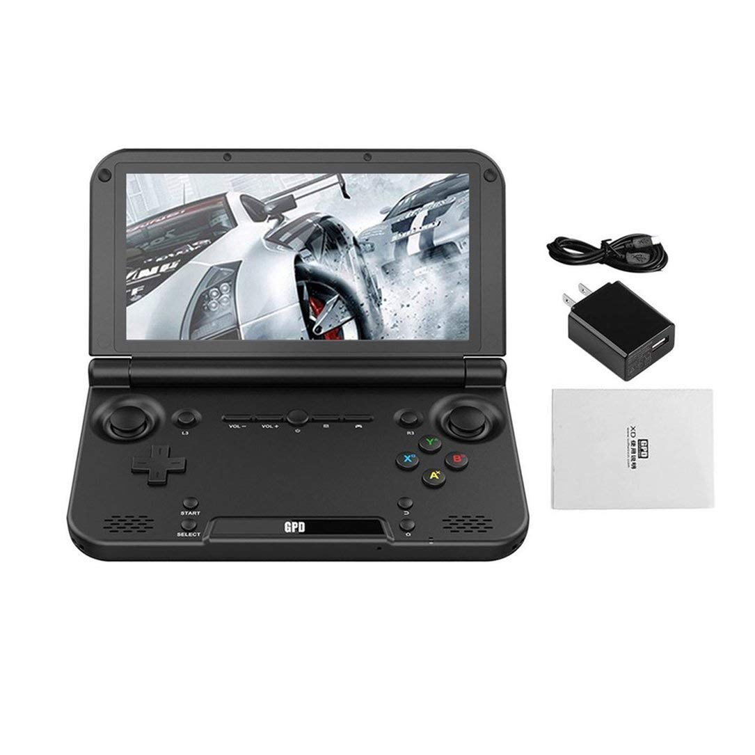 Monllack Portable Size GPD XD Plus 5 Inch Game Player Gamepad 4GB/32GB MTK8176 2.1GHz Handheld Game Console Game Player