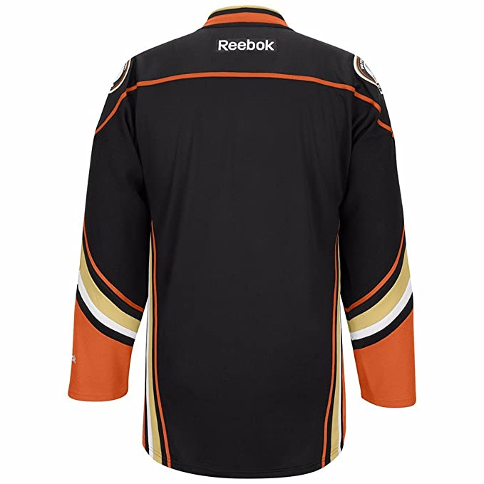 70634f544fd Amazon.com : Anaheim Ducks NHL Reebok Black Official Premier Home Jersey  For Men : Sports & Outdoors