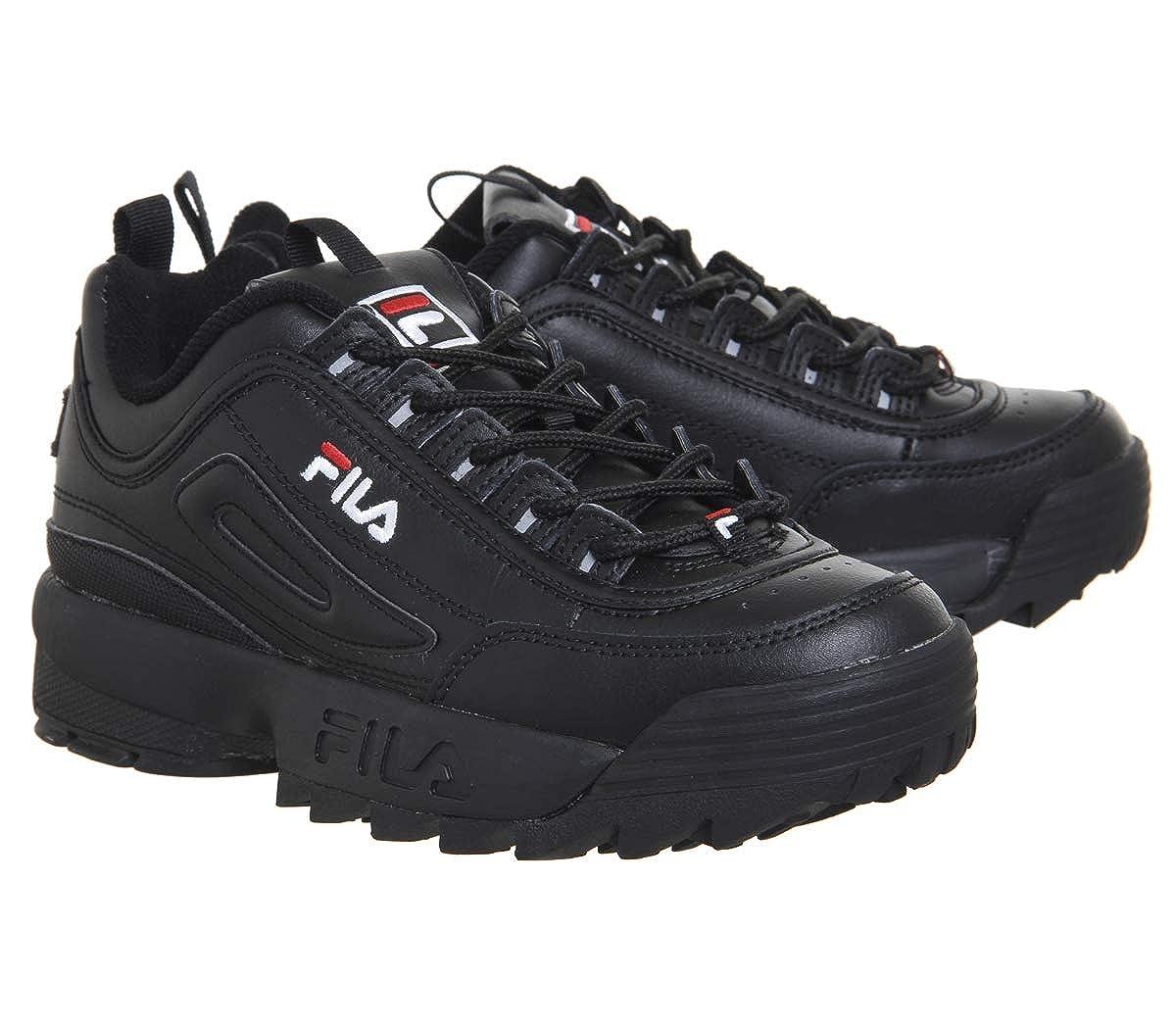 Premium Fila Ii Rojo Negroblancofila Zapatos Mujer Disruptor 0w8ZOPXNkn