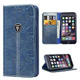 iPhone 6 Plus Case Wallet iPhone 6 Plus Flip Case built in Kickstand Slim Magnetic Folio Cover Leather Protective Case