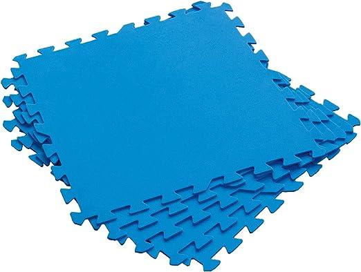 Bestway Flowclear Azulejos de protección del Suelo, Azul: Amazon ...