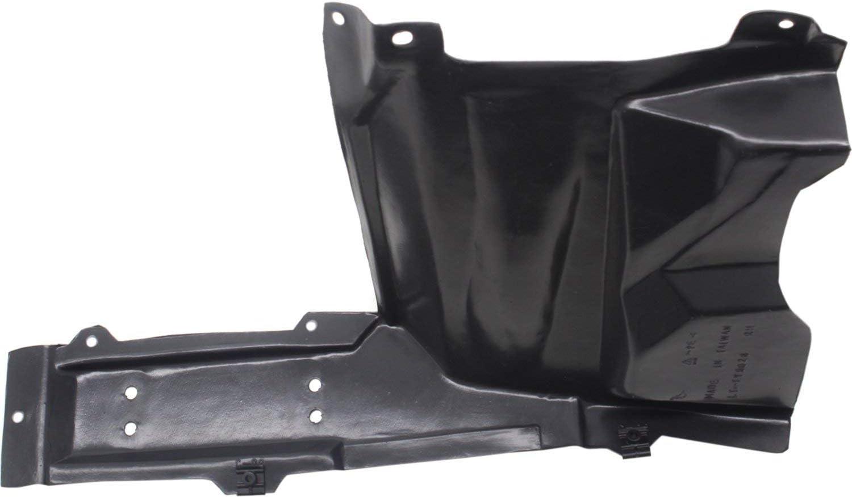 Aftermarket Engine Splash Shield Set of 2 Compatible with 2018-2019 Toyota C-HR Driver and Passenger Side